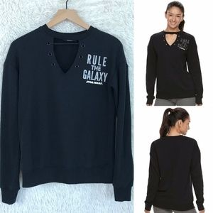 Star Wars Cut Out Sweater Black Her Universe